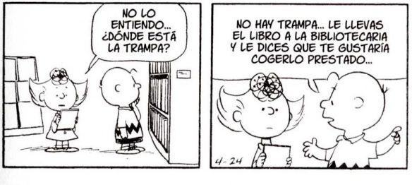 Carlitos en la Biblioteca