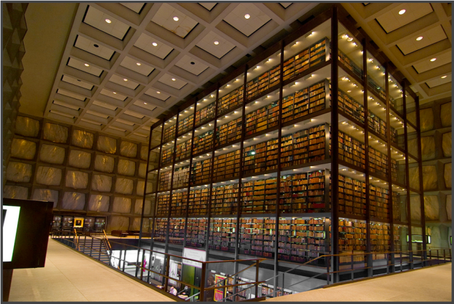 Beinecke Rare Book and Manuscript Library – New Haven (CT), USA